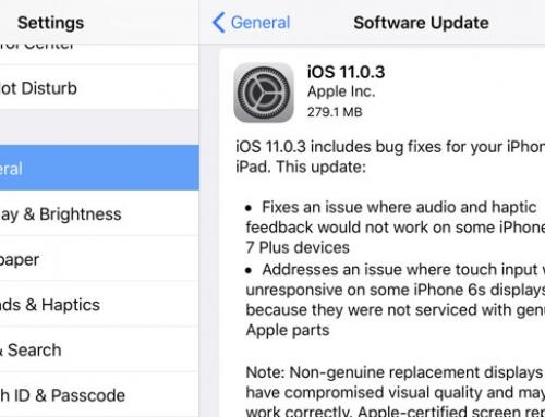 ปล่อยอีกแล้ว iOS 11.0.3 การอัพเดทรายสัปดาห์ของ Apple สะท้อนความไม่เหมือนเดิมของ iOS